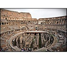 ROME - Colosseum at daylight # 2 - October 10th 2010 - Photographic Print