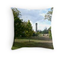 Veterans Memorial Bell Tower - Exeter - Rhode Island - US *featured Throw Pillow