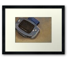 Gameboy Advance Framed Print