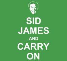 Sid James and Carry On Kids Clothes