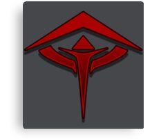 Guild Wars 2 Inspired Revenant logo Canvas Print