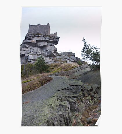 Burg At Flossenbürg Poster