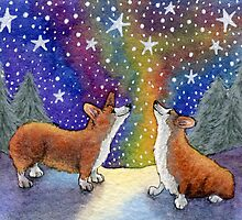 Starry, starry night (version 2) by SusanAlisonArt