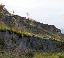 Granite Quarry Wall 3 by Benjamin Sharp