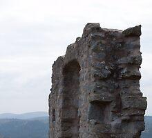Burg At Flossenbürg 5 by Benjamin Sharp
