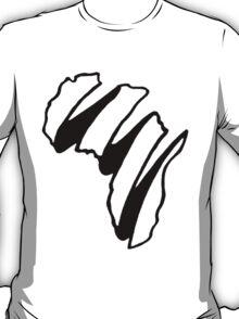Simple Africa Design T-Shirt