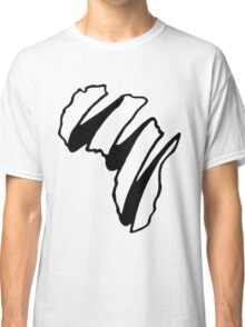 Simple Africa Design Classic T-Shirt