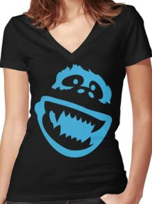 Abominable Women's Fitted V-Neck T-Shirt