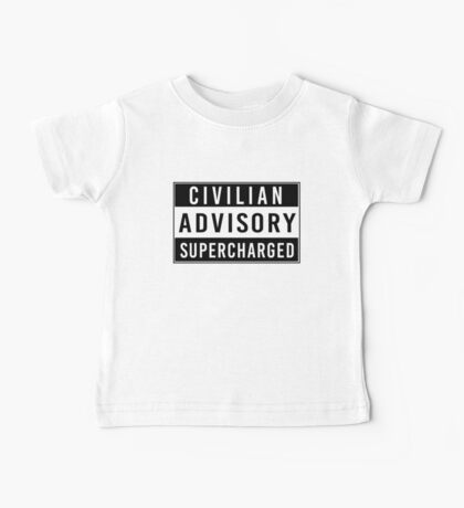 Advisory - supercharged Baby Tee
