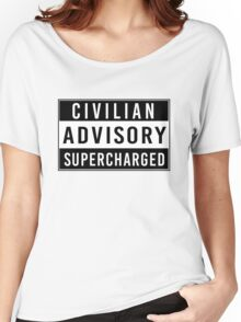 Advisory - supercharged Women's Relaxed Fit T-Shirt