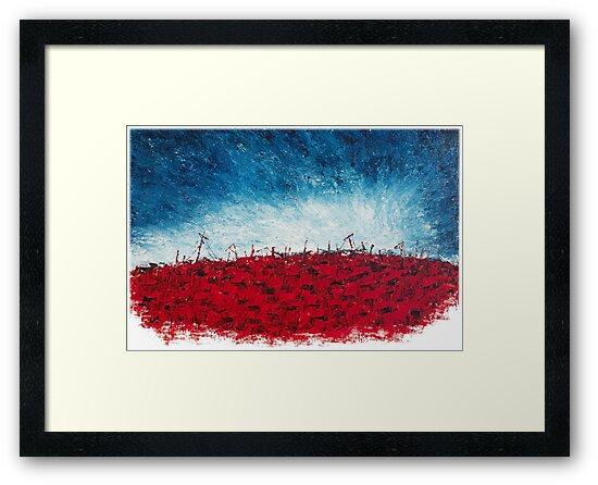 Ruins in a Blood Red Sea-1 By VERNON SULLIVAN by vernonsullivan