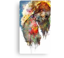 whats left of me Canvas Print
