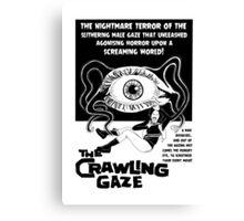 The crawling Gaze - Naturally Defective Canvas Print