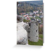 Burg At Flossenbürg 11 Greeting Card
