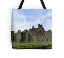 Middleham Castle Tote Bag