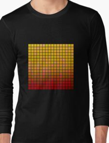 Color Grid 02 Long Sleeve T-Shirt