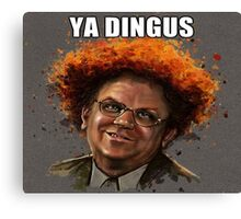 YA DINGUS! - Dr. Steve Brule Canvas Print