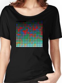 Color Grid 01 Women's Relaxed Fit T-Shirt