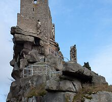 Burg At Flossenbürg 12 by Benjamin Sharp
