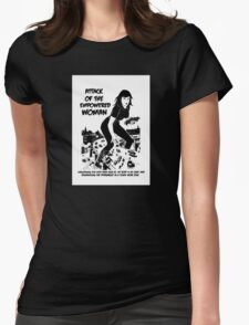 Attack of the empowered woman V2 - Naturally Defective Womens Fitted T-Shirt