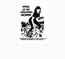 Attack of the empowered woman V2 - Naturally Defective Unisex T-Shirt