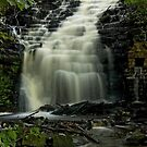 White Coppice Waterfall by davidrhscott