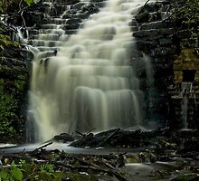White Coppice Waterfall by davidrhscott