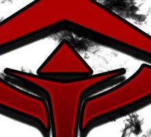 Guild Wars 2 Inspired Revenant flame logo Sticker