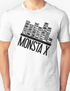 Monsta X Member Names List T-Shirt