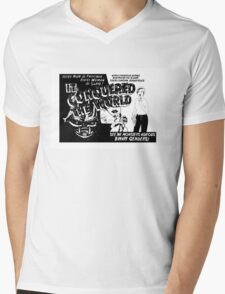 It conquered the world! - Naturally defective Mens V-Neck T-Shirt