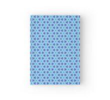 Pattern 500 - Blue Hardcover Journal