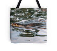 Nutria Swimming - Eugene Oregon Tote Bag