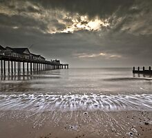 Bank Holiday Seaside Weather by Philip Eaglesfield