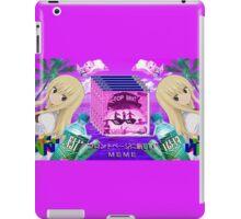 Himouto! Umaru-chan - Umaru Doma - VAPORWAVE AESTHETIC iPad Case/Skin
