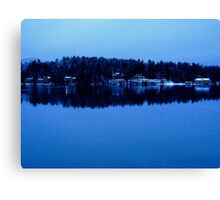 Mirror Lake Canvas Print