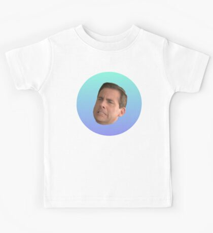 Michael Scott Face Kids Tee