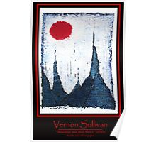 Buildings and Red Sun-4-Publicity Poster-1 By VERNON SULLIVAN Poster