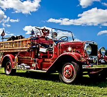 Lewiston Fire Truck by Gary Smith