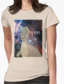 Cosmic Yee Womens Fitted T-Shirt