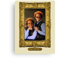 Brule Brothers Portrait Version 2 Canvas Print