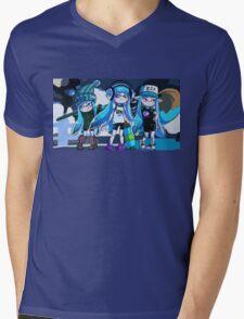 Squid Girl Squad Mens V-Neck T-Shirt