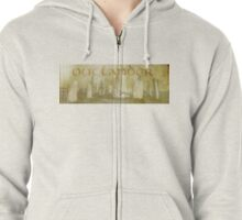 OUTLANDER Scotland Design Scottish Scenery Standing Stones Zipped Hoodie