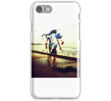 Skating away iPhone Case/Skin