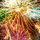 Éclat d'explosif de couleur by Dan McKenzie