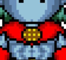 I am Pixel Captain Planet! Sticker