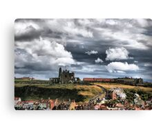 View of Witby Canvas Print