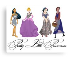 Pretty Little Princesses 2 Metal Print