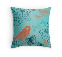 Botanical  Throw Pillow