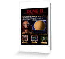 Dune II - Harkonnen Mentat poster Greeting Card