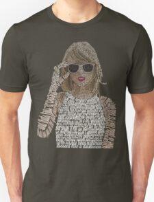 Taylor Swift Typography T-Shirt